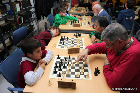 La instantánea muestra un momento de las partidas jugadas durante el I Encuentro, en noviembre de 2012