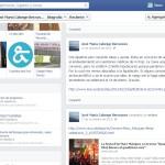 Página personal de José María Calonge en Facebook, en la que aparece el comentario mencionado