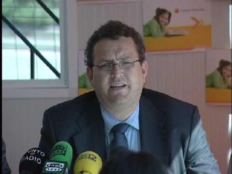 José María Calonge, director del Colegio Santa Mónica