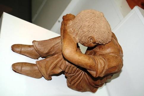 Una pieza de cerámica expuesta en una muestra de una edición anterior (Foto Taller Cerámica)