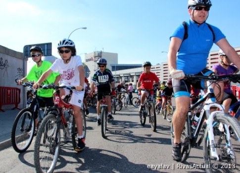 Una imagen correspondiente al Día de la Bici del pasado año (Foto: Enrique Ayala)
