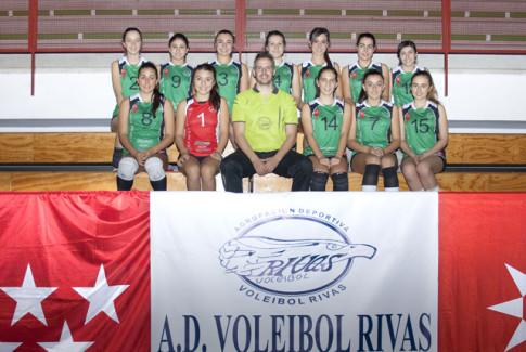 Cadete A de la AD Voleibol Rivas (Foto Cortesía del club)