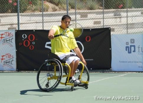 Uno de los participantes en el Open de 2013 (Foto: Enrique Ayala)