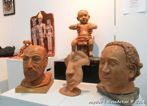 Piezas de escultura (Foto: Enrique Ayala)