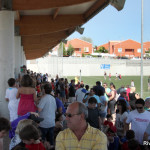 El torneo contó en todo momento con gran cantidad de público en la grada (Foto Rivas Actual)