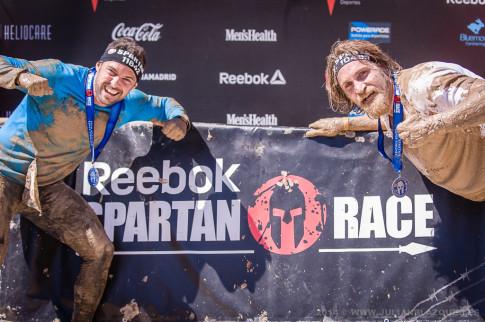 Dos participantes en la carrera (Foto: Julián BLázquez)