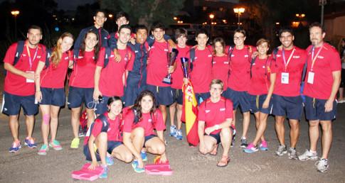 La selección española participante en la Copa COMEN (Foto: Alberto Melendo)
