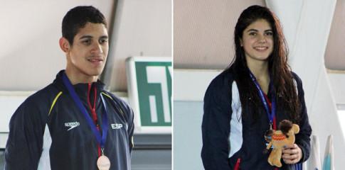 Hugo González y Marta Cano, tras la competición (Fotos: Alberto Melendo)