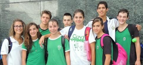 El equipo de Covibar participante en el Campeonato Infantil (Foto Susana Miñarro)