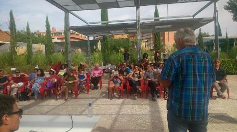 Un aspecto del encuentro (foto cortesía de Letras Vivas)