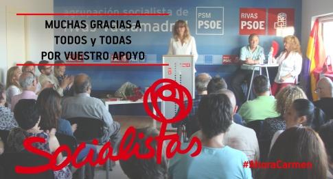 Imagen de campaña de Carmen Pérez