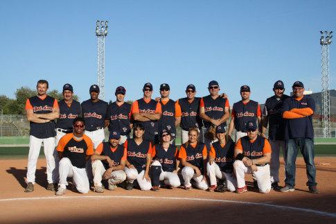 Equipo de Dridma Rivas vencedor del torneo (Foto cortesía de Dridma Rivas)