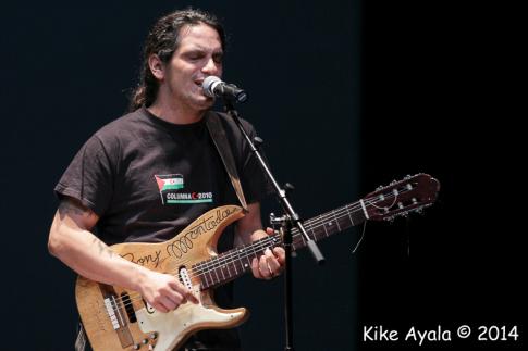 Un momento de la actuación de Iratxo (Foto: Enrique Ayala)