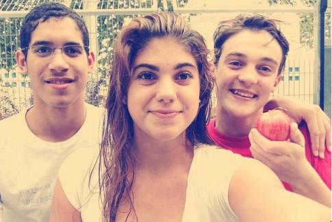 De izquierda a derecha: Hugo, Marta y Héctor (Foto Marta Cano)