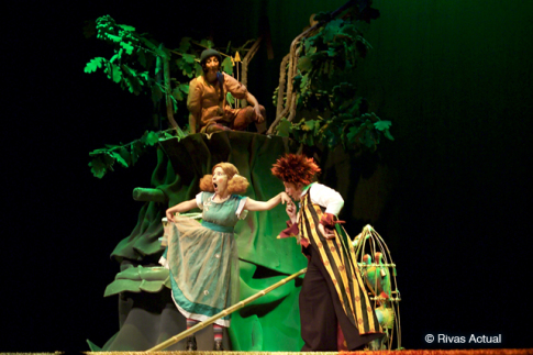 Uno de los espectáculos representados en el Pilar Bardem (Foto archivo Rivas Actual)