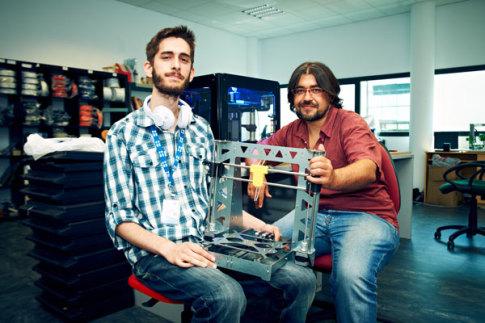 Dos emprendedores de Rivas (Foto Rivasciudad.es)