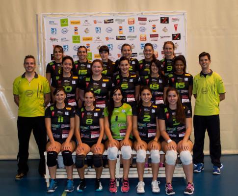 Equipo de Superliga Femenina 2 que debutará  próximamente en la categoría (Foto cortesía de AD Voleibol Rivas)