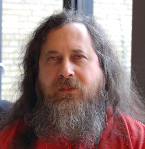 Richard Stallman (Foto: Bill Ebbesen)