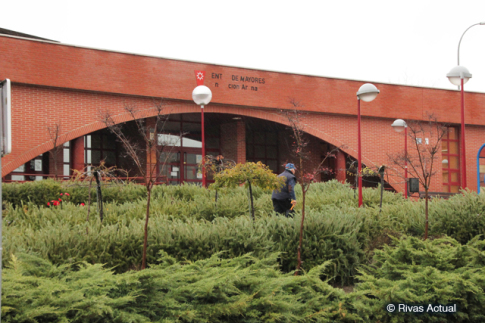 El Centro de Día Concepción Arenal (Foto Rivas Actual)