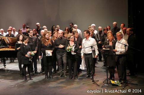 Un momento del concierto (Foto Enrique Ayala)