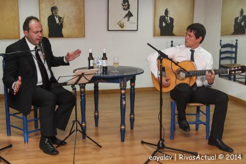Curro Piñana durante su actuación (Foto: Enrique Ayala)