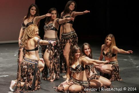 Uno de los grupos que actuó en la gala (Foto: Enrique Ayala)