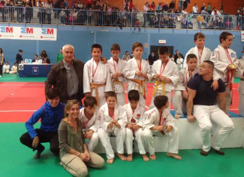 Foto cortesía de Judo Club Rivas