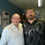 Ruperto Alonso, psicólogo de ANSHDA (izquierda) y<br />  y Andrés Sesmero (Foto ANSHDA)