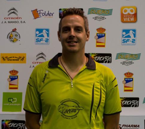 Carlos López (Foto cortesía AD Voleibol Rivas)