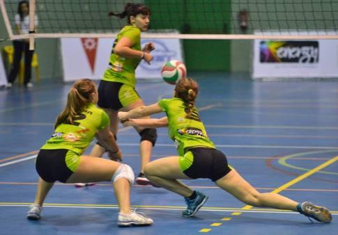 Foto cortesía de AD Voleibol Rivas