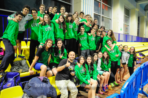 Deportistas del CD Covibar Rivas en el campeonato (Foto cortesía CD Covibar Rivas)