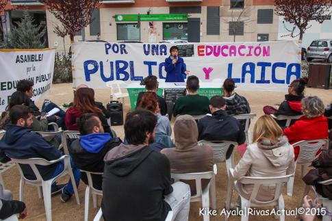 Un aspecto del aula celebrada el domingo 15 de marzo (Foto: Kike Ayala)