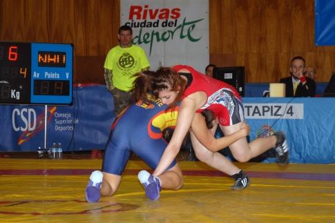 Un o de los combates (foto: Félix Casado)