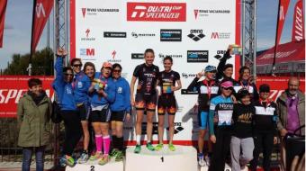 Una imagen del podium (Foto cortesía Diablillos de Rivas)
