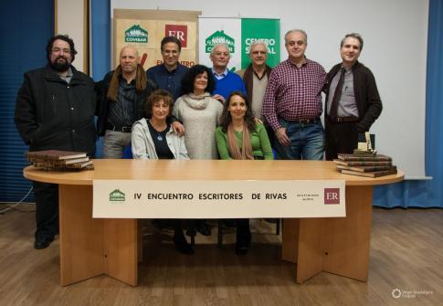 Miembros de la asociación, dutrante el anterior Encuentro realizado en Rivas (foto cortesía de Escritores de Rivas)