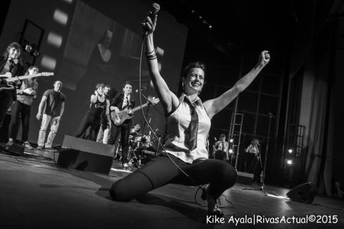 Un momento de la actuación (Foto: Kike Ayala)