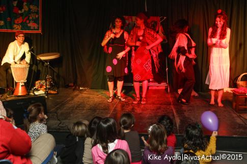 Un momento de la actuación (Foto Kike Ayala)