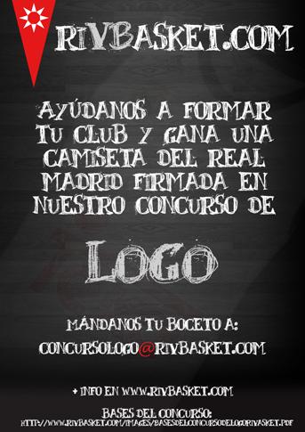 Cartel anunciador del concurso para crear el  nuevo logo