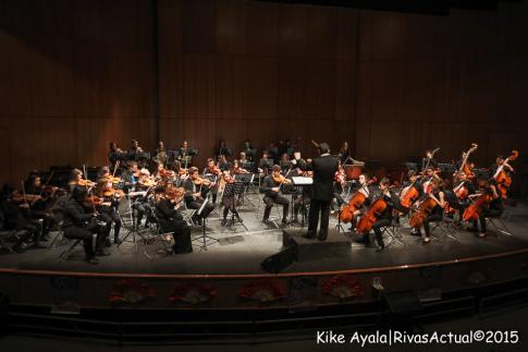 La orquesta Athanor, durante su actuación (Foto: Kike Ayala)