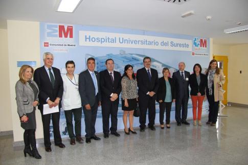 La AECC y el Hospital Universitario del Sureste firman un acuerdo de colaboración