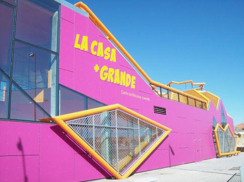 La Casa + Grande, un o de los edificios emblemáticos de la juventud en Rivas