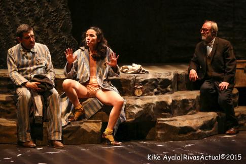 Un momento de la representación (Foto: Kike Ayala)