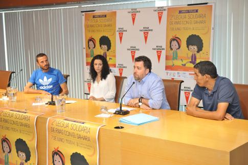 II Legua solidaria de Rivas RUEDA