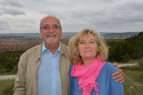 José Masa y Laura Cruz. (Foto: cortesía Rivas x la Izquierda)