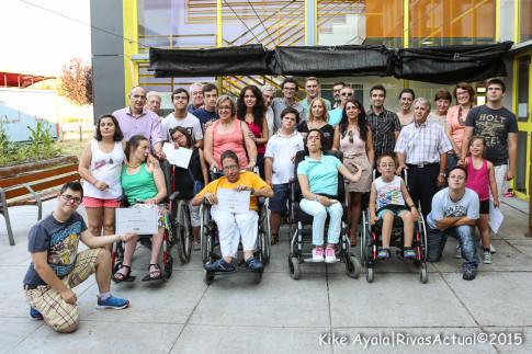 La Fundación de Discapacitados de Rivas (Fundar) entregó, este viernes 26, los premios del sexto concurso de pintura rápida para personas con discapacidad . (Foto: Kike Ayala).