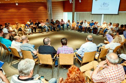 El nuevo Gobierno de Rivas se presentó al Consejo de Ciudad. (Foto: cortesía ayto.).