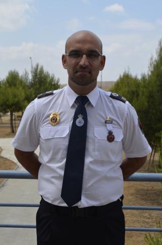 El Jefe de Protección Civil Rivas, Andrés David Horcajo Gómez, fue galardonado con la medalla al Mérito de este cuerpo, en categoría Bronce y con distintivo Blanco. (Foto: cortesía Protección Civil).