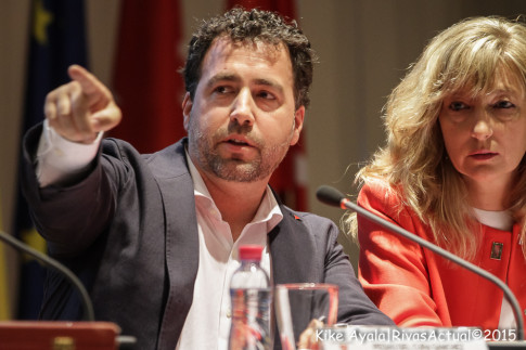 Archivada la causa contra Pedro del Cura y Tania Sánchez, imputados por el Caso Aúpa. (Foto: Kike Ayala).