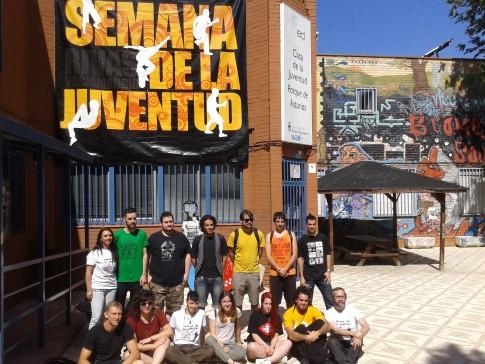 Desde hoy y hasta el próximo 28 de junio los jóvenes de Rivas muestran sus proyectos, actividades e iniciativas a todos los vecinos de la ciudad.  (Foto: Irene Núñez).