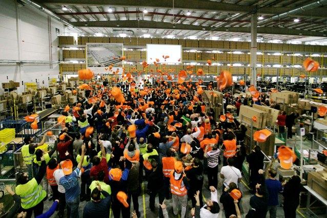 Amazon Duplicara Su Centro Logistico En San Fernando De Henares Y